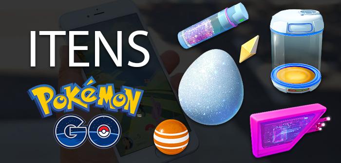 Itens Pokémon GO